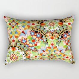 Circus Pastel Mandala Rectangular Pillow
