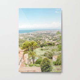 Beautiful view of Tuscany landscape Metal Print