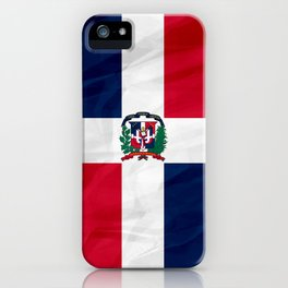 The Dominican Republic - North America Flags iPhone Case