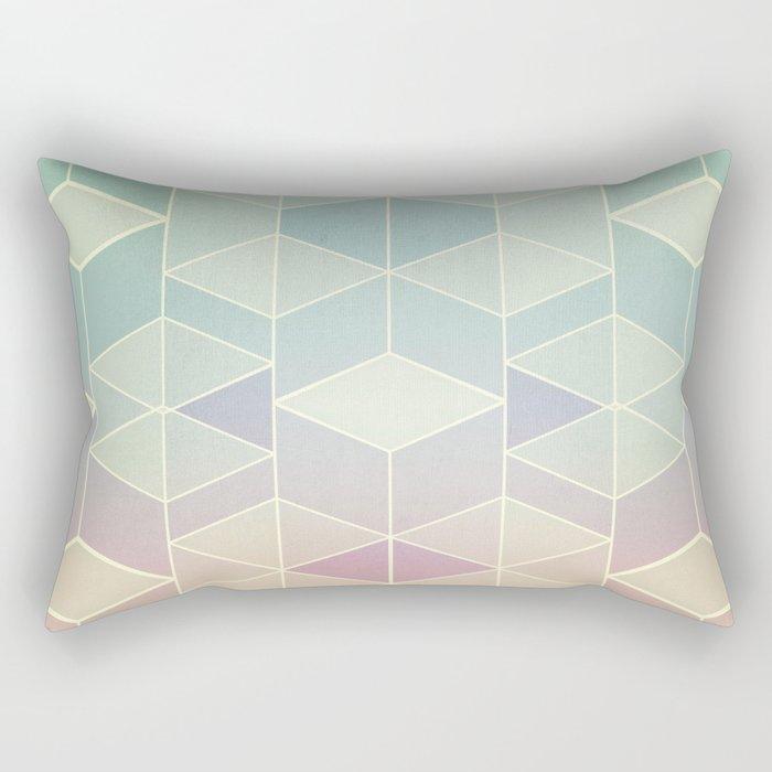 Upsidedown V Rectangular Pillow