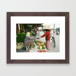 Hoi An Market II Framed Art Print