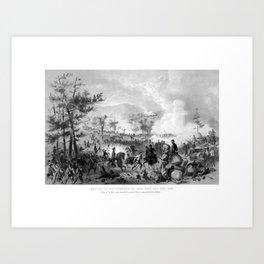 Battle of Gettysburg -- Civil War Art Print