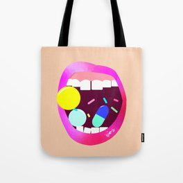 Mouthful of Goodies Tote Bag