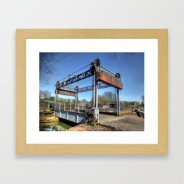 Lift Bridge Framed Art Print