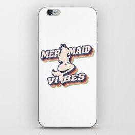 Mermaid Vibes Retro 3D iPhone Skin
