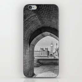 Big ben and bridge iPhone Skin