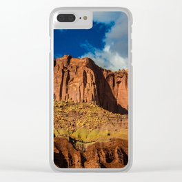 Red Cliffs - Capitol Reef National Park, Utah Clear iPhone Case