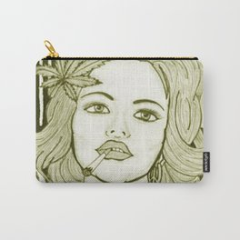 Amsterdam Girl Carry-All Pouch