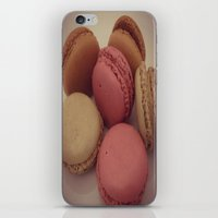 macaroon iPhone & iPod Skins featuring macaroon by  Alexia Miles photography