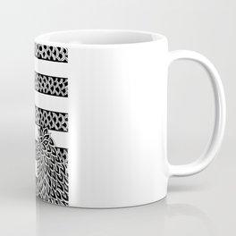 Stripes & Flowers Coffee Mug