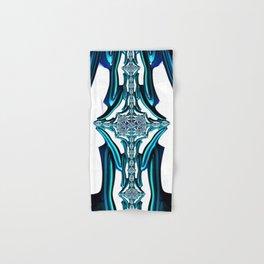 Blue Crystal Hand & Bath Towel