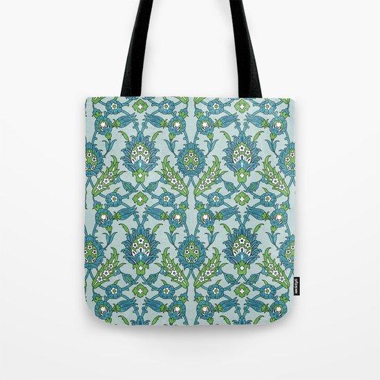 Floral ornament Tote Bag