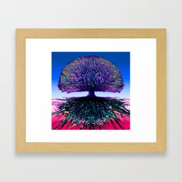 Tree of Life Creative Link Framed Art Print