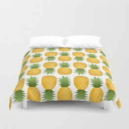 Pineapple Pattern Duvet Cover