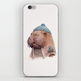 Tattooed Walrus iPhone Skin