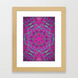 magic mandala 51 #mandala #magic #decor Framed Art Print