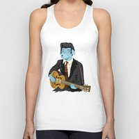 rockabilly Tank Tops featuring The Rockabilly Dog by Oliver Lake