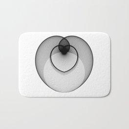 The Heart . Geometric Colletion Bath Mat