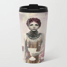Queen of Cups Metal Travel Mug