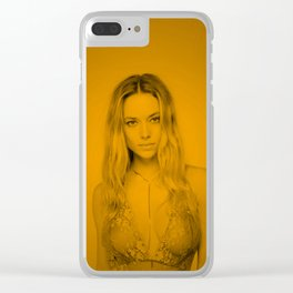 Hannah ferguson (Zoom Pose) Clear iPhone Case