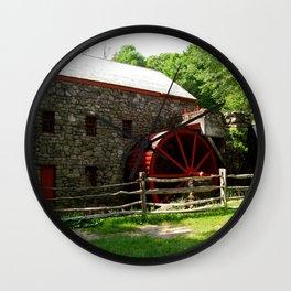 Grist Mill Wall Clock