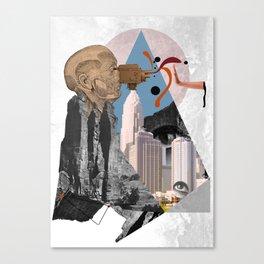 Block Vision Canvas Print