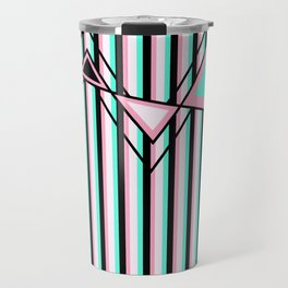 Stripes, Triangles and ZigZags Travel Mug