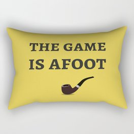 The Sherlock Holmes Quote II Rectangular Pillow