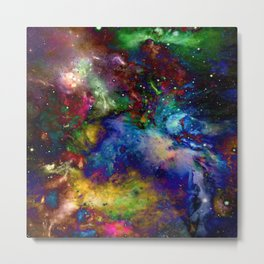 Everything is nothing 31 (therefore it was beautiful) Metal Print