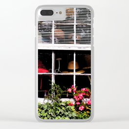 A Hat Boutique Clear iPhone Case