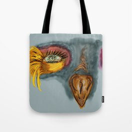 Colorful birdy Tote Bag