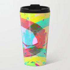 pastel color rings  Metal Travel Mug
