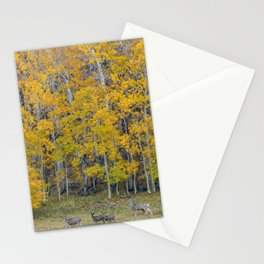 Aspen Forest and Deer Stationery Cards