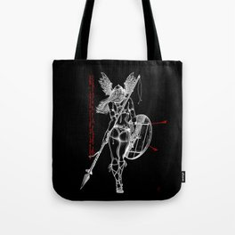 The Valkyrie - Negative Tote Bag