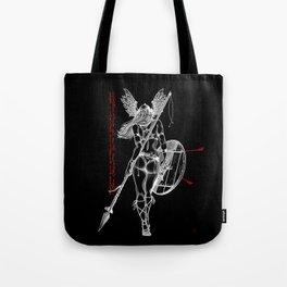 The Valkyrie - Negative Tote Bag