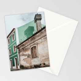 Old Portuguese house Stationery Cards