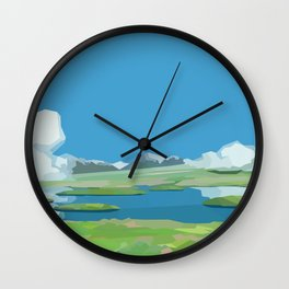 The Red Dial Wall Clock