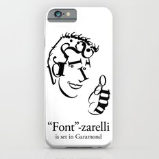 'Font'-zarelli iPhone 6s Slim Case