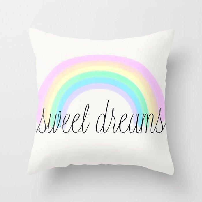 Sweet Dreams Throw Pillow By Hoorayhouse Society40 Interesting Sweet Dreams Decorative Pillows