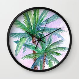 Palm tree Wall Clock