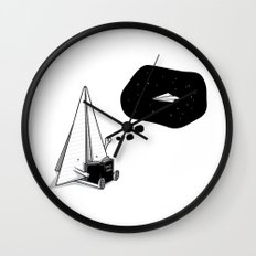 Beyond borders Wall Clock