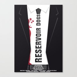 Reservoir Dogs Tribute Poster Canvas Print