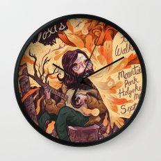 Fleet Foxes Poster Wall Clock
