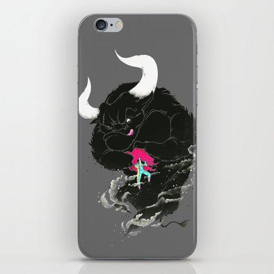Bullfighting iPhone & iPod Skin