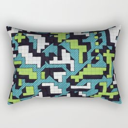 Bad at Tetris Rectangular Pillow