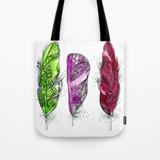 Dream Feathers 3 Tote Bag