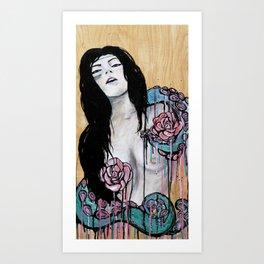 Ebony  Art Print