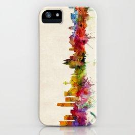 Liverpool England Skyline iPhone Case
