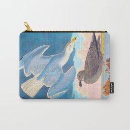 Herring Gull John James Audubon Birds Of America Scientific Illustration Carry-All Pouch