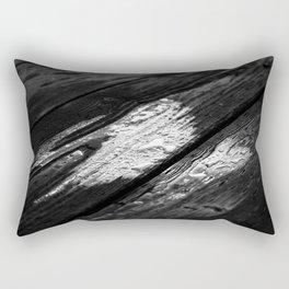 Oil Silk Rectangular Pillow